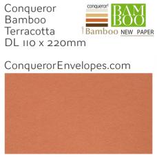 Bamboo Terracotta DL-110x220mm Envelopes