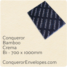 Bamboo Crema B1-700x1000mm 120gsm Paper