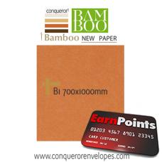 Bamboo Terracotta B1-700x1000mm 250gsm Paper