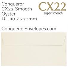 CX22 Oyster DL-110x220mm Envelopes