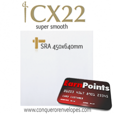CX22 High White SRA2-450x640mm 100gsm Paper