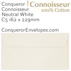 Connoisseur Natural White C5-162x229mm Envelopes