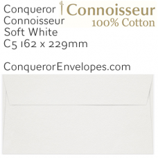 Connoisseur Soft White C5-162x229mm Envelopes