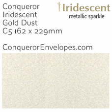 Iridescent Gold Dust C5-162x229mm Envelopes