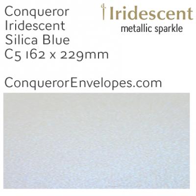 Iridescent Silica Blue C5-162x229mm Envelopes