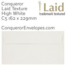 Laid High White C5-162x229mm Envelopes