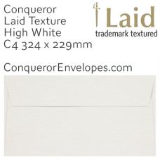 Laid High White C4-324x229mm Envelopes