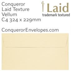 Laid Vellum C4-324x229mm Envelopes