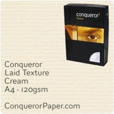 Laid Cream A4-210x297mm 120gsm Paper