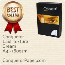 Laid Cream A4-210x297mm 160gsm Paper