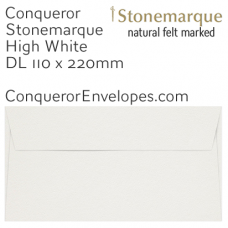 Stonemarque High White DL-110x220mm Envelopes