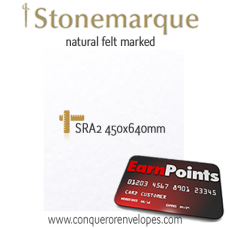 Stonemarque Diamond White SRA2-450x640mm 300gsm Paper