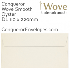 Wove Oyster DL-110x220mm Envelopes