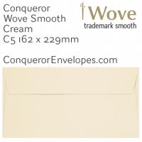 Wove Cream C5-162x229mm Envelopes