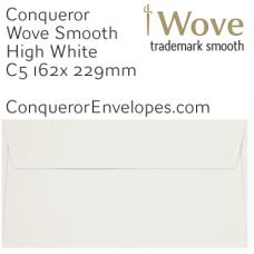 Wove High White C5-162x229mm Envelopes