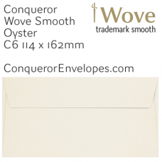 Wove Oyster C6-114x162mm Envelopes