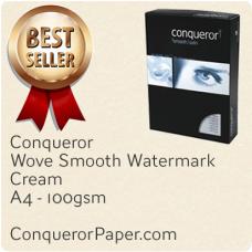 Wove Cream A4-210x297mm 100gsm Paper