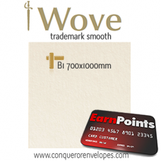 Wove Oyster B1-700x1000mm 220gsm Paper