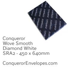 Wove Diamond White SRA2-450x640mm 120gsm Paper
