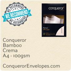 Bamboo Crema A4-210x297mm 100gsm Paper