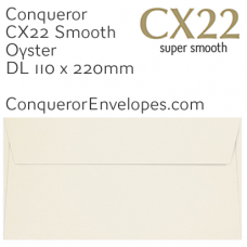 CX22 Oyster DL-110x220mm Envelopes