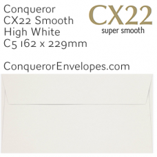 CX22 High White C5-162x229mm Envelopes