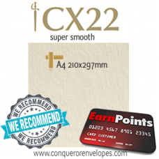CX22 Cream A4-210x297mm 100gsm Paper