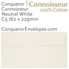 Connoisseur Natural White C5-162x229mm Envelopes