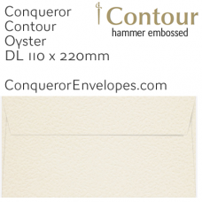 Contour Oyster DL-110x220mm Envelopes