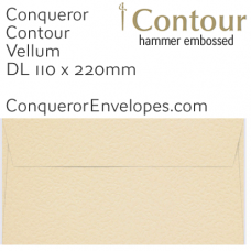 Contour Vellum DL-110x220mm Envelopes