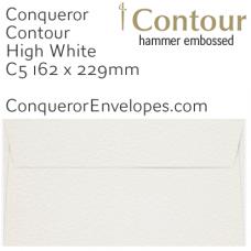 Contour High White C5-162x229mm Envelopes