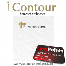 Contour Brilliant White B1-700x1000mm 160gsm Paper