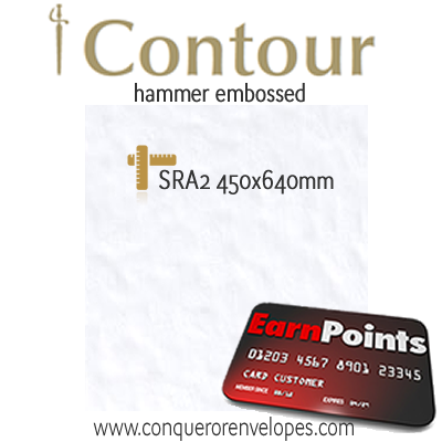 Contour Diamond White SRA2-450x640mm 300gsm Paper