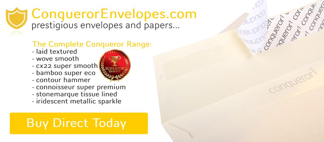 Conqueror Envelopes