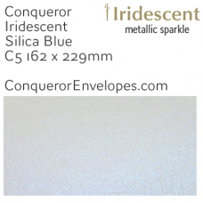 Iridescent Silica Blue C5-162x229mm Envelopes