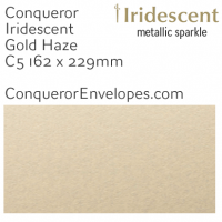 Iridescent Gold Haze C5-162x229mm Envelopes