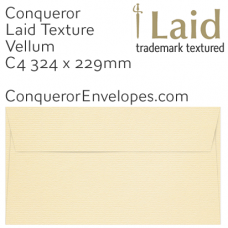 Laid Vellum C4-324x229mm Envelopes
