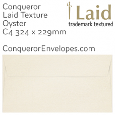 Laid Oyster C4-324x229mm Envelopes