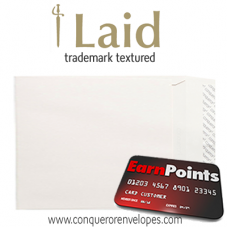 Laid Oyster C4-324x229mm Pocket Envelopes