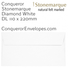 Stonemarque Diamond White DL-110x220mm Envelopes