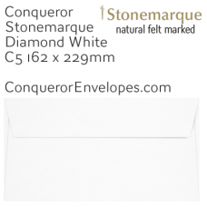 Stonemarque Diamond White C5-162x229mm Envelopes