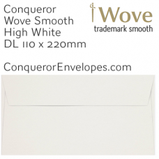 Wove High White DL-110x220mm Envelopes