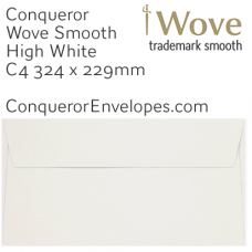 Wove High White C4-324x229mm Envelopes