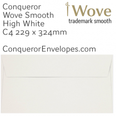 Wove High White C4-324x229mm Pocket Envelopes