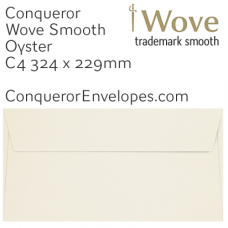 Wove Oyster C4-324x229mm Envelopes