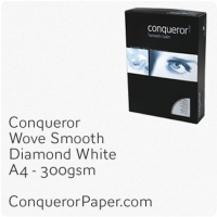 Wove Diamond White A4-210x297mm 300gsm Paper
