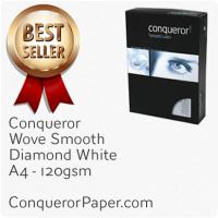 Wove Diamond White A4-210x297mm 120gsm Paper