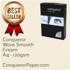 Wove Cream A4-210x297mm 120gsm Paper