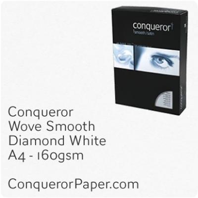 Wove Diamond White A4-210x297mm 160gsm Paper