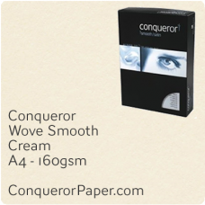 Wove Cream A4-210x297mm 160gsm Paper